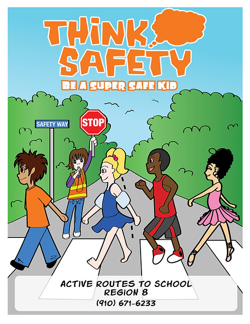 How To Be A Safe Kid Coloring Book