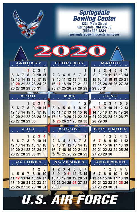 U.S. Air Force Wall Calendar