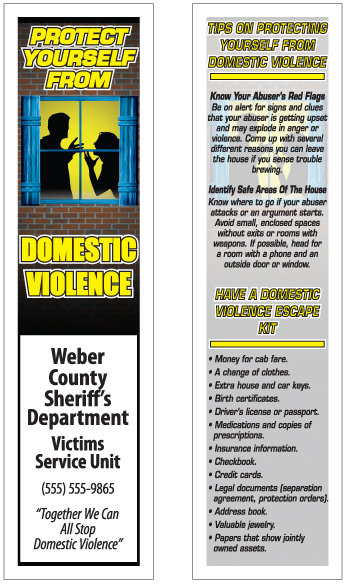 Domestic Violence (Bookmarks)