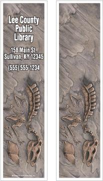 Dinosaur Bones Bookmark