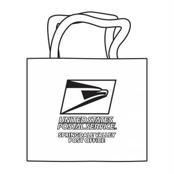 Post Office Eagle Coloring Tote