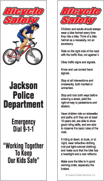 Bike Safety (Bookmarks)