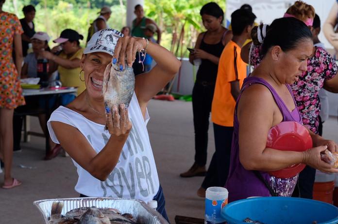 Mojariza organizada por la comunidad.