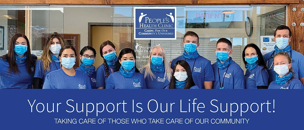 Your Support Is Our Life Support Banner-