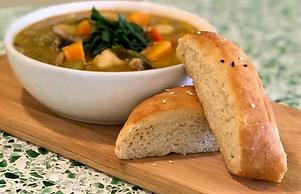 Zucchini & Butternut Squash Soup