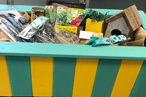 $50 Donation and Garden in a Box Package, value $500