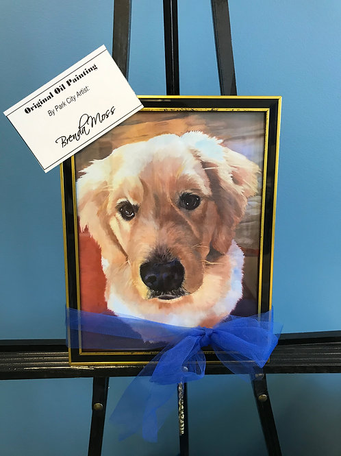 $100 Donation and Custom Pet Painting, value $500