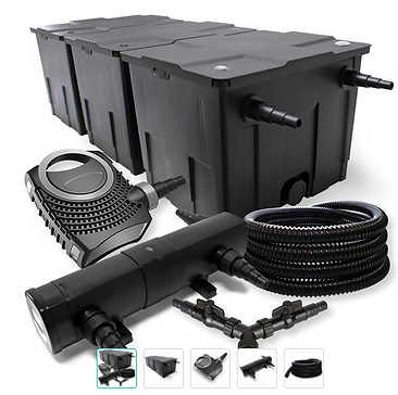 AquSunSun Kit filtration bassin 90000l 3