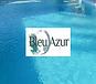 bleuazurpiscine - Logo