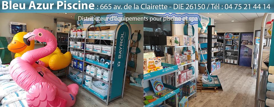 Bleu Azur Piscine - Die 26150