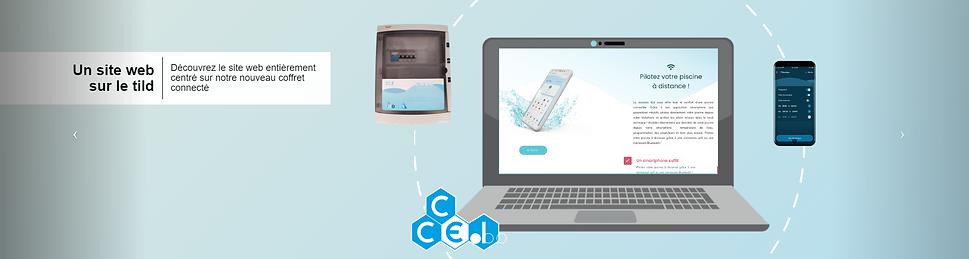 CCEI - Un site web sur le tild
