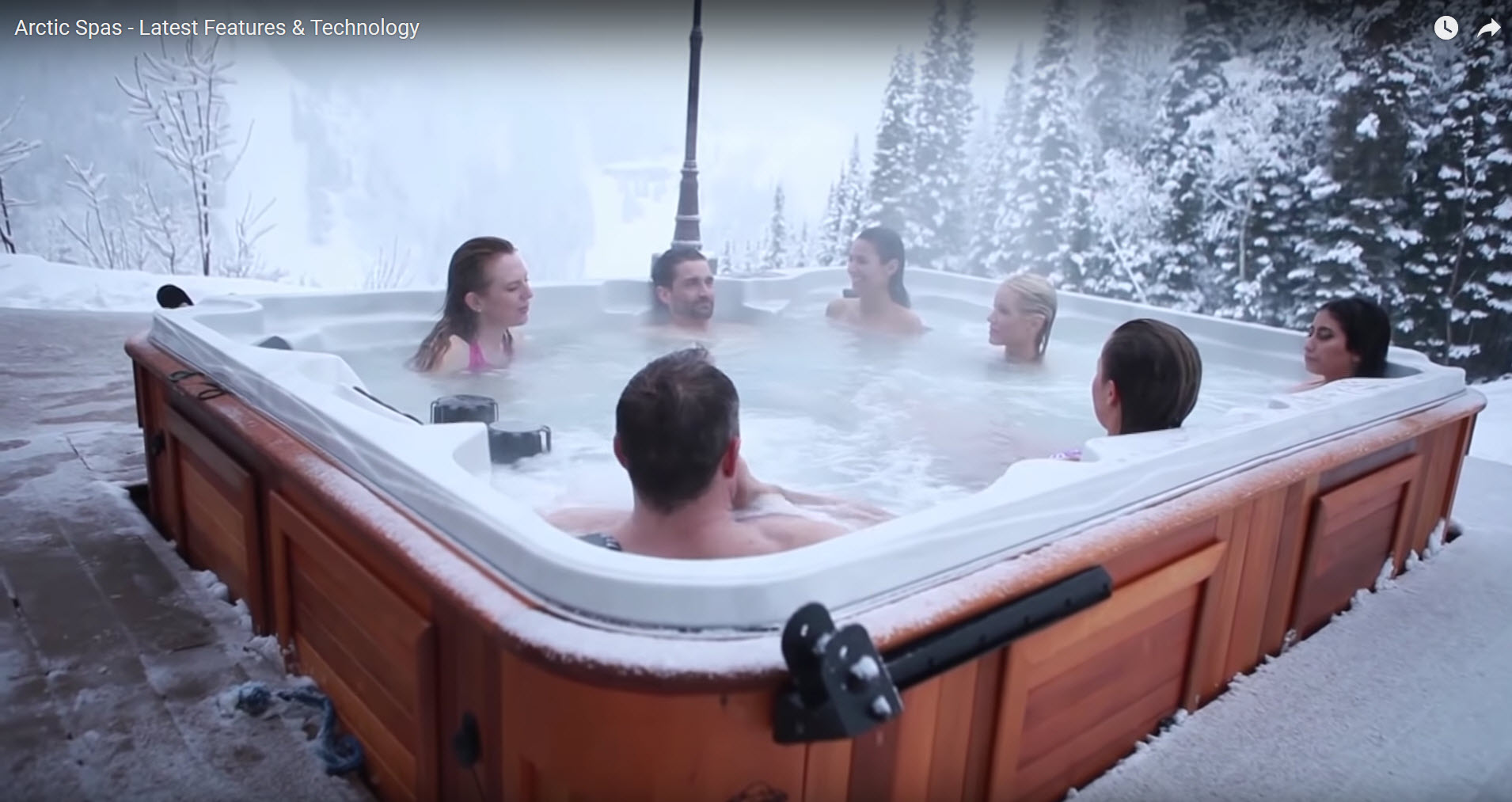 Arctic Spas - Latest Features & Technolo