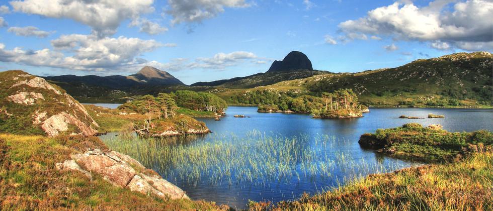 Glen Loch with Cansip & Suilven