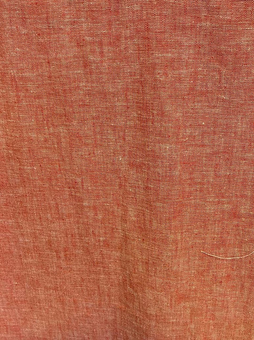 Linen /Cotton Tangerine 19488