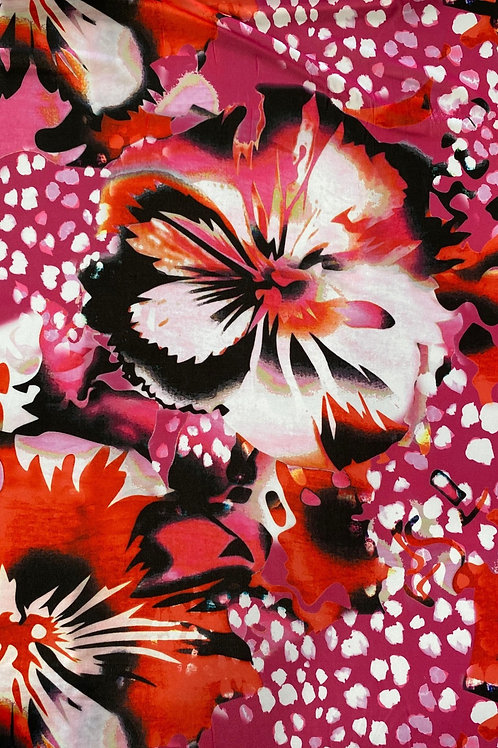 Poly Spandex Digital Print 19642