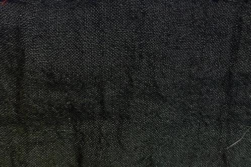 100% Linen Athena Black 18090