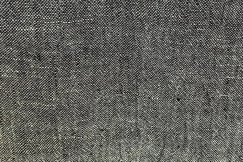 100% Linen Athena Black/White 18090