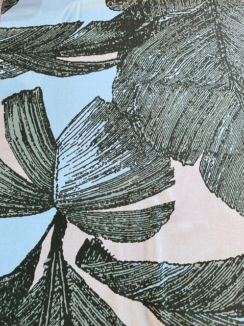 Poly Spandex Screen Print  19537 #1 Turq/Green