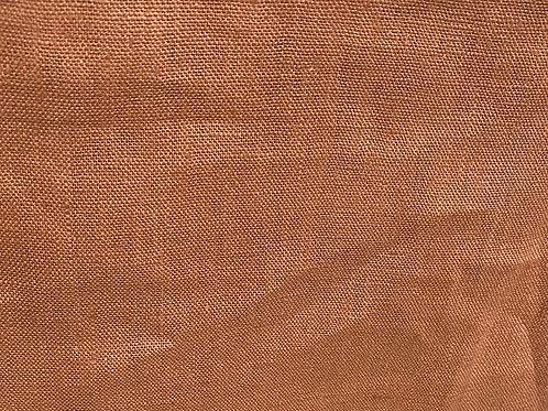 100% Linen Montana 19672 Rust 200gsm