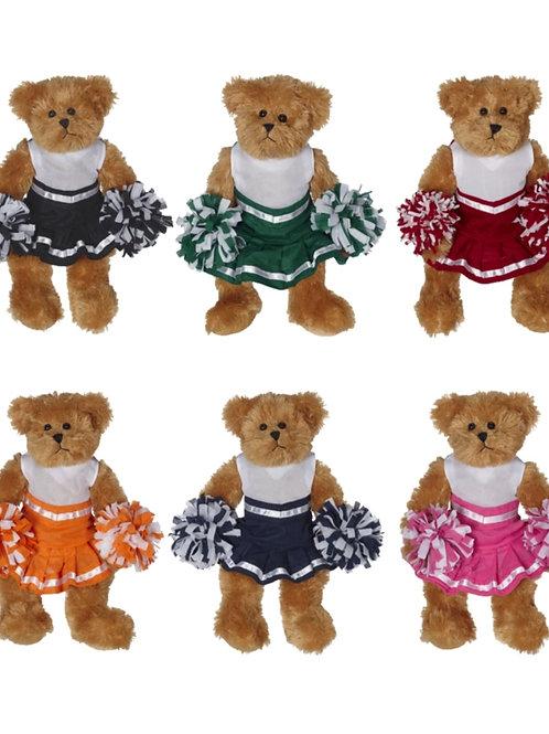 Personalized Cheerleader Bear