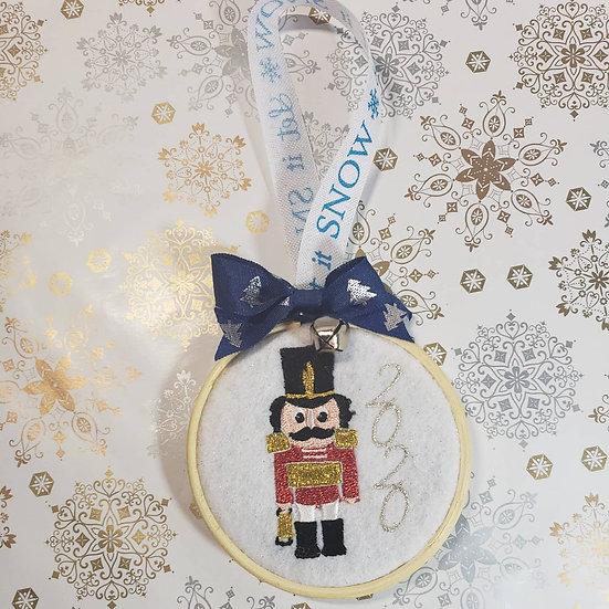 Nut cracker Christmas ornaments