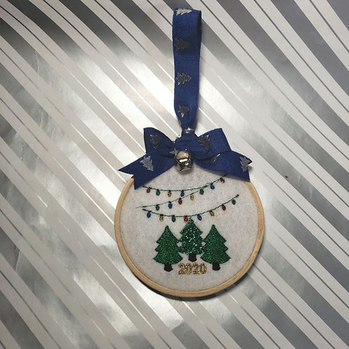 5 personalized ornament pack