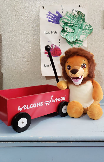 Personalized Embroidery Lion plush