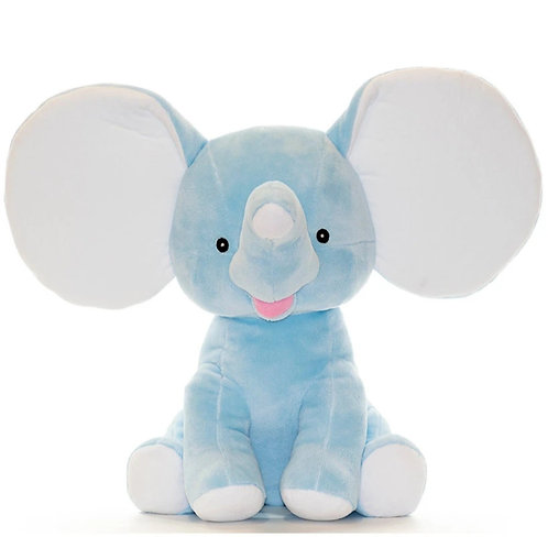 Personalized Blue Elephant