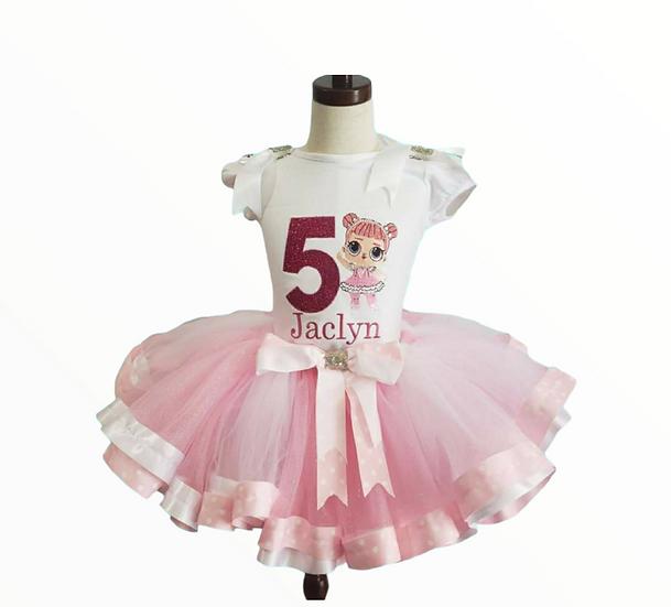 Ballerina personalized tutu outfit