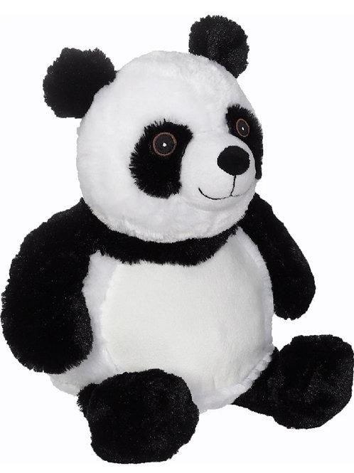 Embroidery panda plush