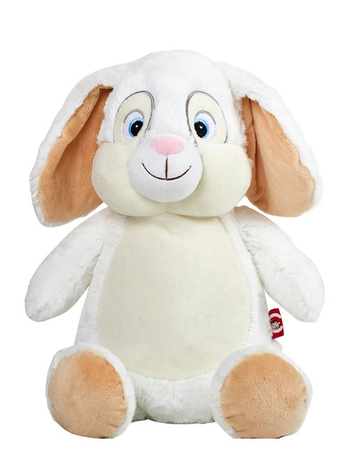 Personalized Embroidery bunny plush