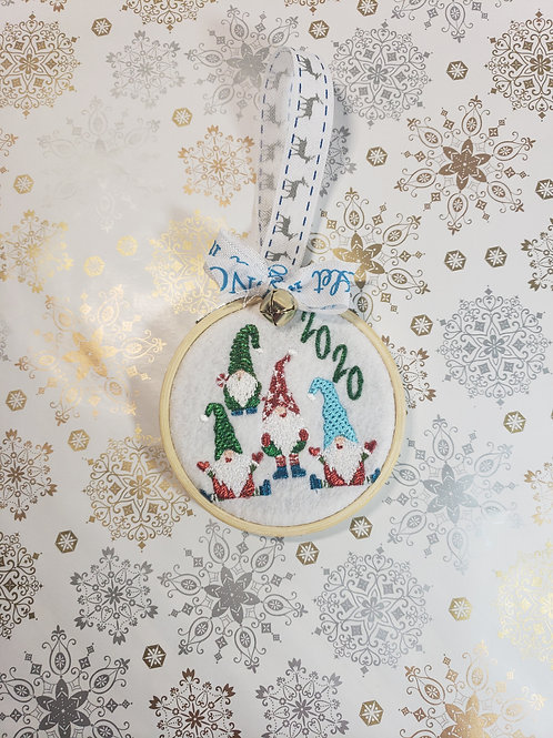 Gnome Christmas ornament 2020