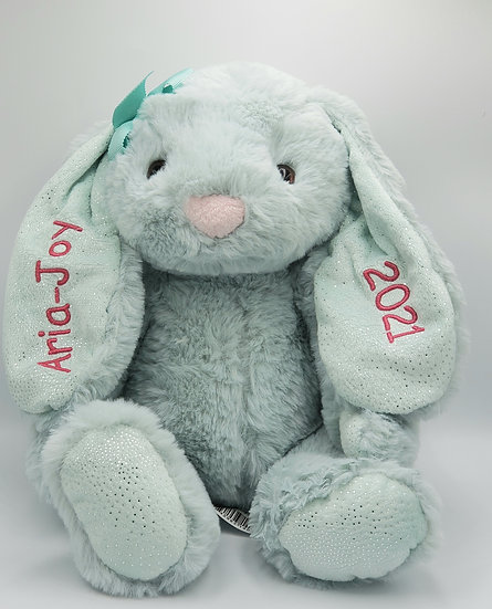 Personalized Embroidery Easter Bunnies