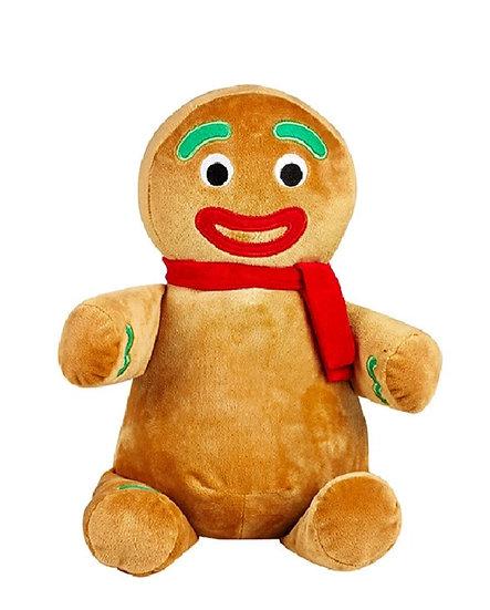 Personalized Gingerbread Person plush