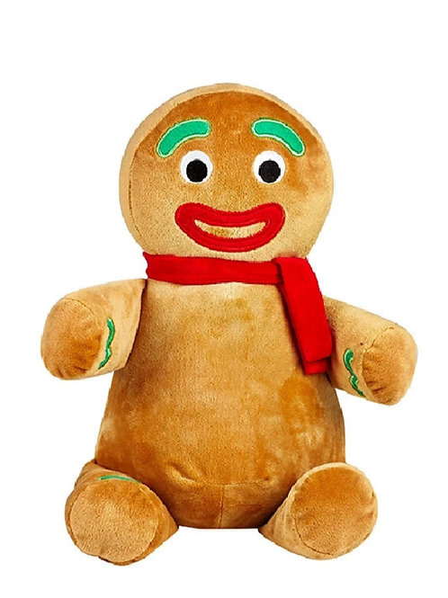 Personalized Gingerbread Person plush