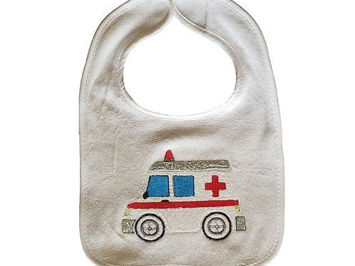 Personalized Embroidery/Applique Ambulance Bib
