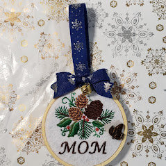 6 personalized ornament pack