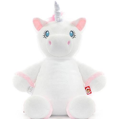 Personalized White Unicorn
