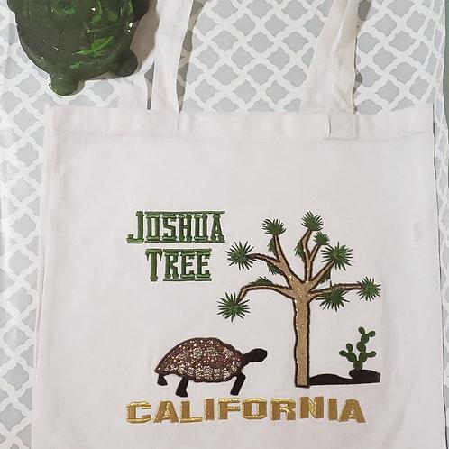 Joshua Tree Turtle tote bag