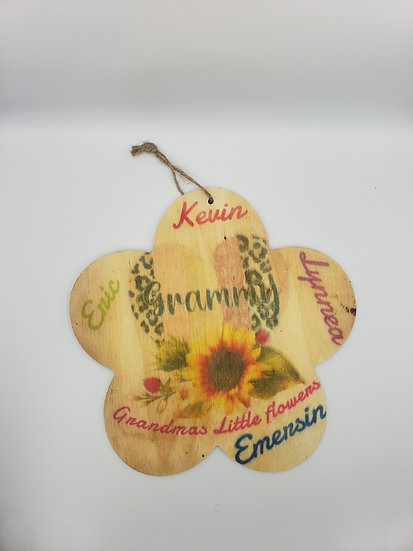 Personalized wood wall decoration