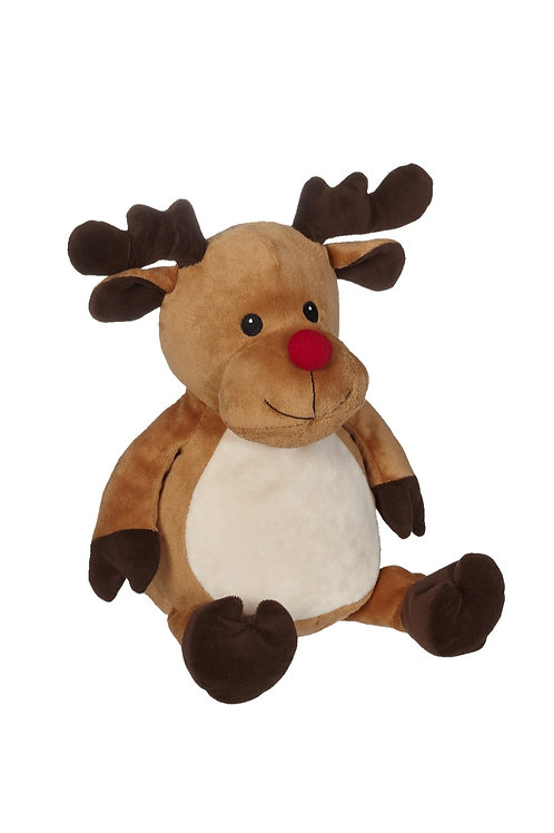 Personalized Rudolph the red nose Reindeer