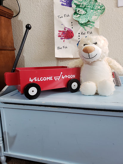Personalized Guardian Memorial Angel Bear plush
