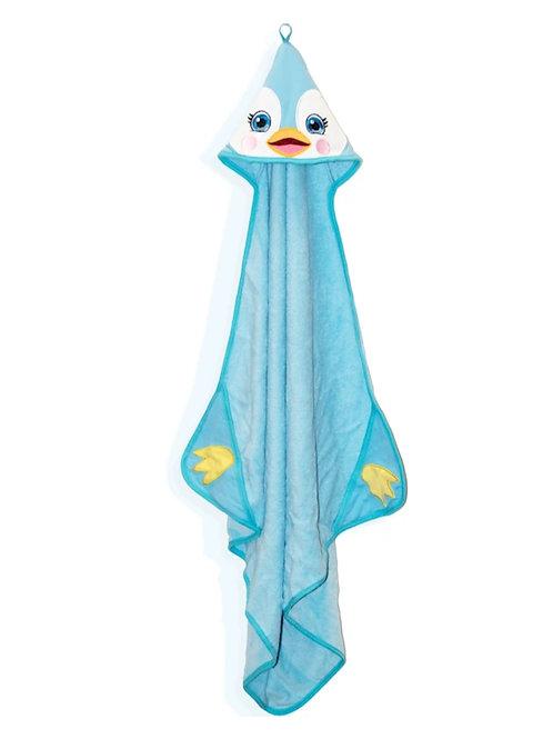 Personalized penguin Towel