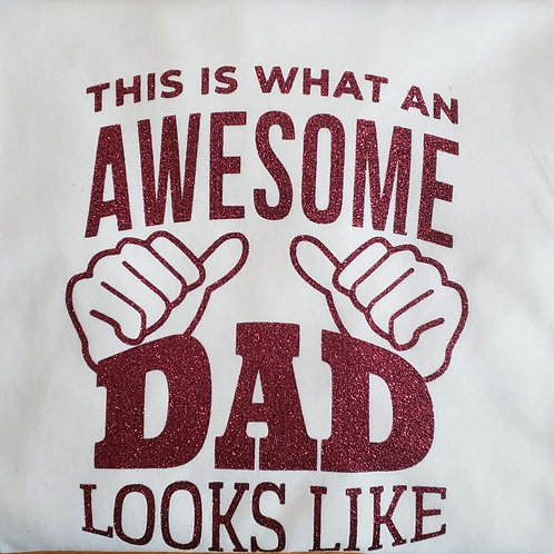 Father Day vinyl shirt