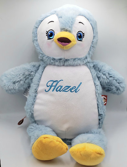 Personalized Embroidery penguin plush