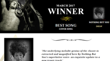 "AKADEMIA MUSIC AWARDs Winner March 2017 Best Cover Song ""Dream"""