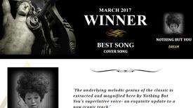 "AKADEMIA MUSIC AWARDs Winner March 2017 Best Cover Song ""Dream"""