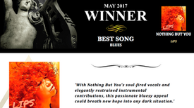"AKADEMIA AWARD Winner May 2017 Best Song Blues""LIPS"""
