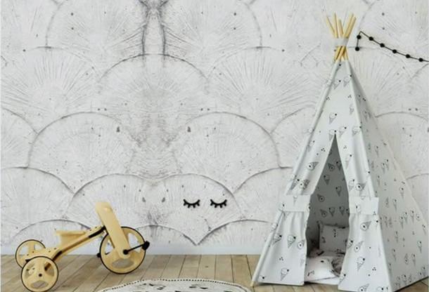 Mikrosement med dekormønster, Dekorhuset