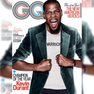 Kevin Durant GQ's 'Champion of the Year'